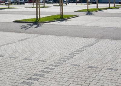 Winterdienst Parkplatzanlagen Baumärkte